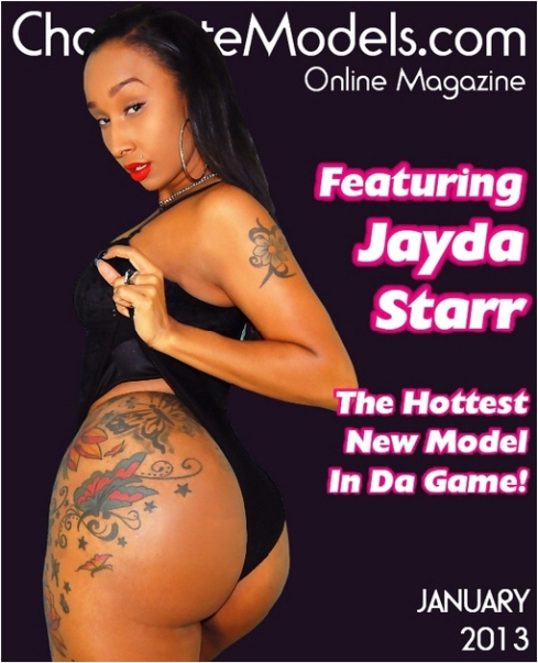 Cover model Jayda Starr